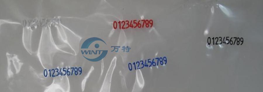 2 * 3 * 15mm Hot stamping lettere nastro termico stampa alfabeto font stampante data codice di scadenza macchina codifica
