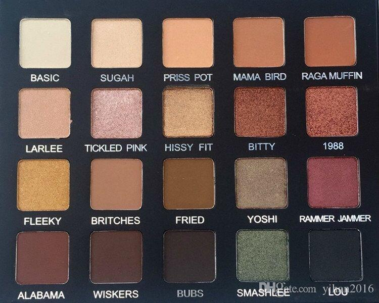 New arrival Violet Voss Laura Lee 20 colours Eye Shadow palette Natural and Waterproof palette
