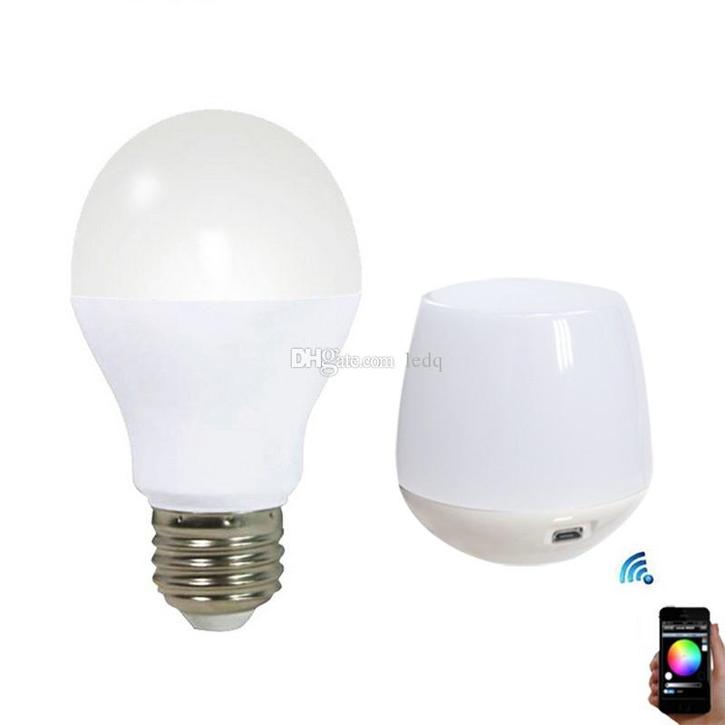 LED Bulbs 6W 9W RGBW 2.4G Group Division Globe Bubble Light AC 85~265V for Showroom Gallery Home +Mi Light WIFI Controller CE ROSH