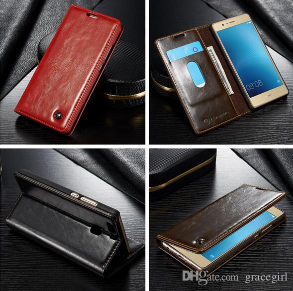 Delux CaseMe Case R64 For LG V20 V10 G4 G5 Huawei P8 P9 Lite Oneplus 3 Xiaomi 5 M5 Redmi 3 NOTE3 Flip Wallet Leather Stand Card Pouch Cover