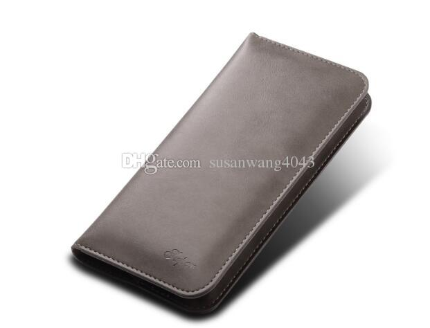5.7 inch universal Luxury pouch for iphone7 iphone 7 6 6s plus S7 S6 leather Protective pouch hybrid cover fold holder defender case GSZ263