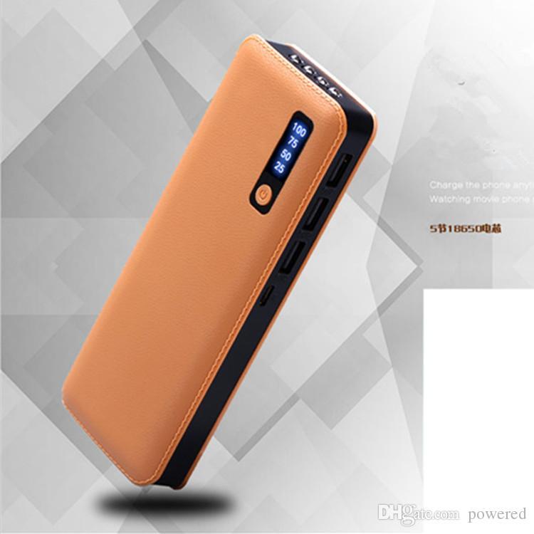 Nuevo estilo patten 20000mAh Power Bank 3USB Batería externa Bancos de energía Cargador para iPhone 7 8 x Samsung s8 todo teléfono Universal