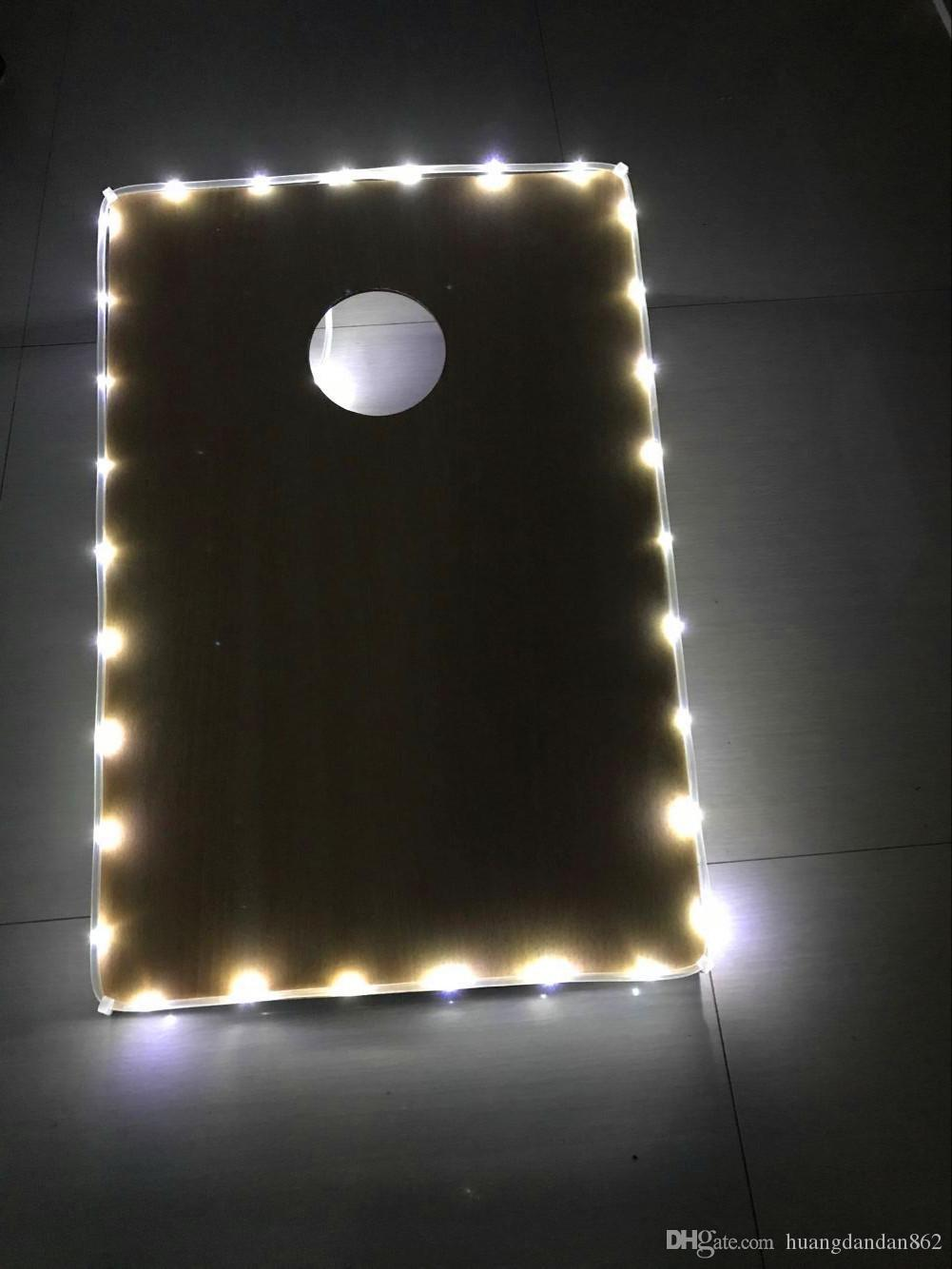 Rand Cornhole LED-Licht für cornhole Brett LED Cornhole Randbefeuerung MIX / MATCH FARBEN! -