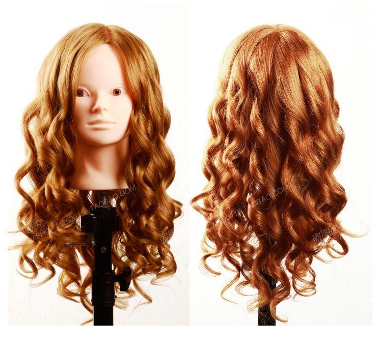 Cabeza del maniquí del pelo humano del 100% cabeza del maniquí de 20