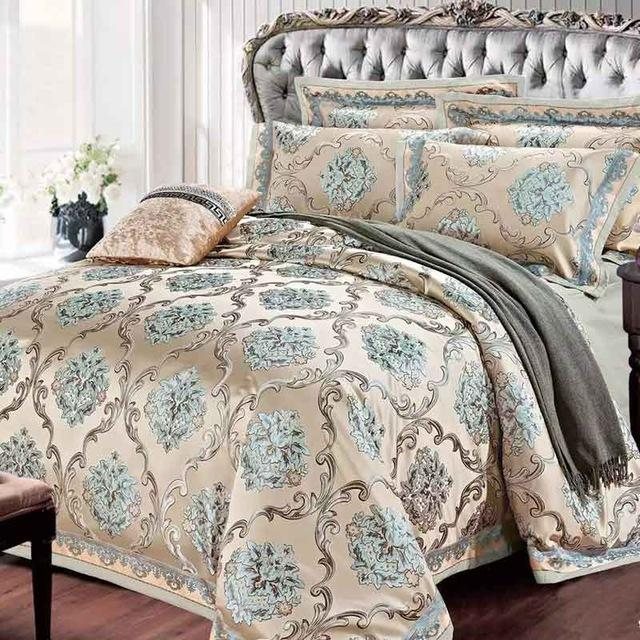 luxury gold bedding sets uk king set designer cotton for cheap