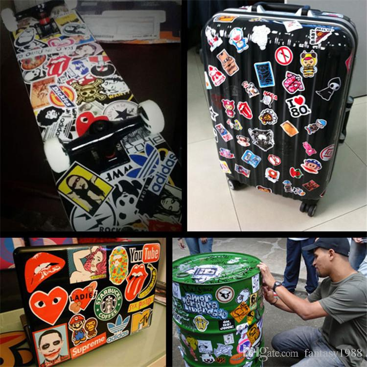 2019 Stickers Decal Car Skateboard Scooter Luggage Sticker