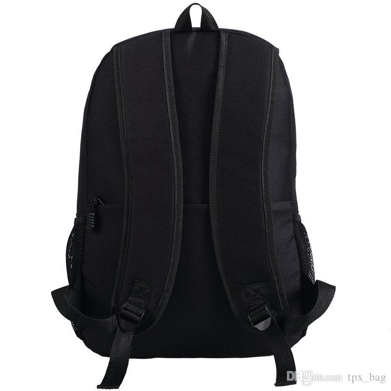 Cartoon pattern backpack Anthony Davis daypack Basketball fans schoolbag Quality rucksack Sport school bag Outdoor day pack