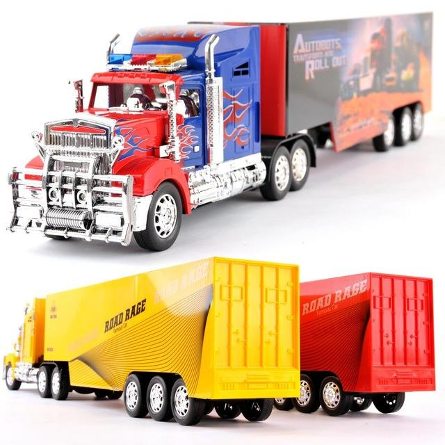 Wholesale Free Shopping Truck Remote Control Large Toy Car Remote Control  Tractors Remote Control Car Stacking Container Truck Large Remote Control  Car Fast ...