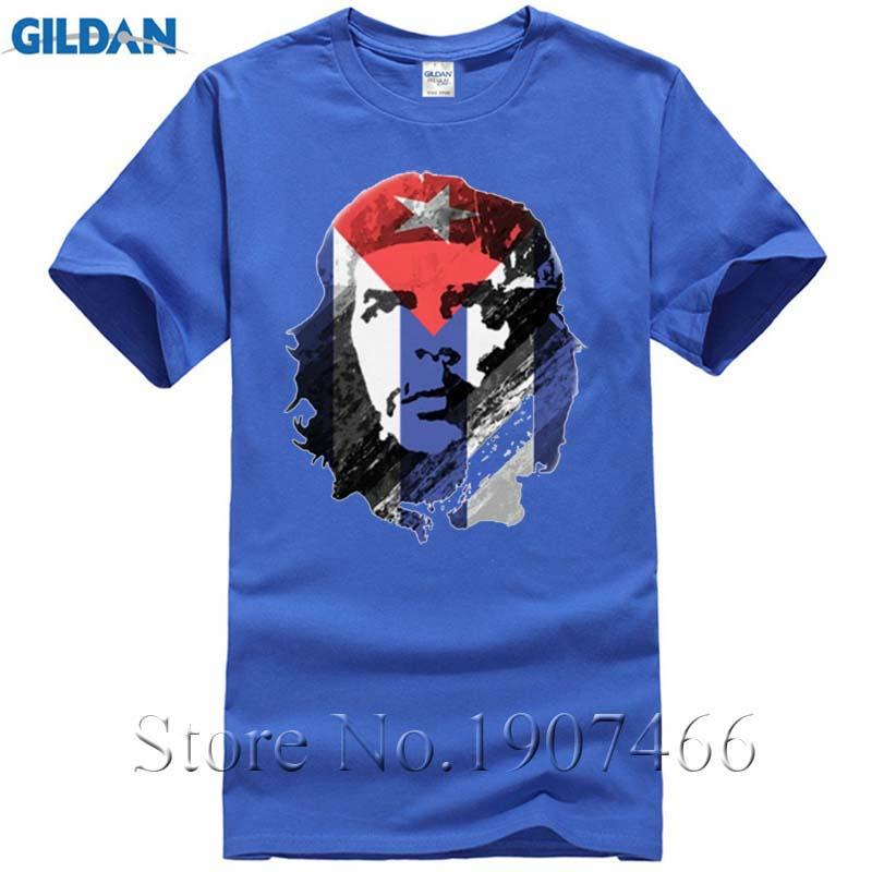 Oversize Funny Men T Shirt Che Guevara Cuba Flag Hot Sale Camisetas Tops  2017 Joker Geek Superman Chemise Homme Tee Shirt Online with  12.99 Piece  on ... 9592f0da4df34