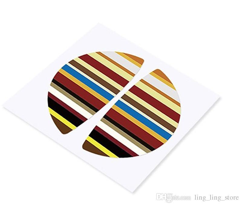 Новый дизайн интерьер ручка двери украшения стайлинга автомобилей наклейки для BMW MINI COOPER S R55 / R56 / R57 мультфильм национальный флаг
