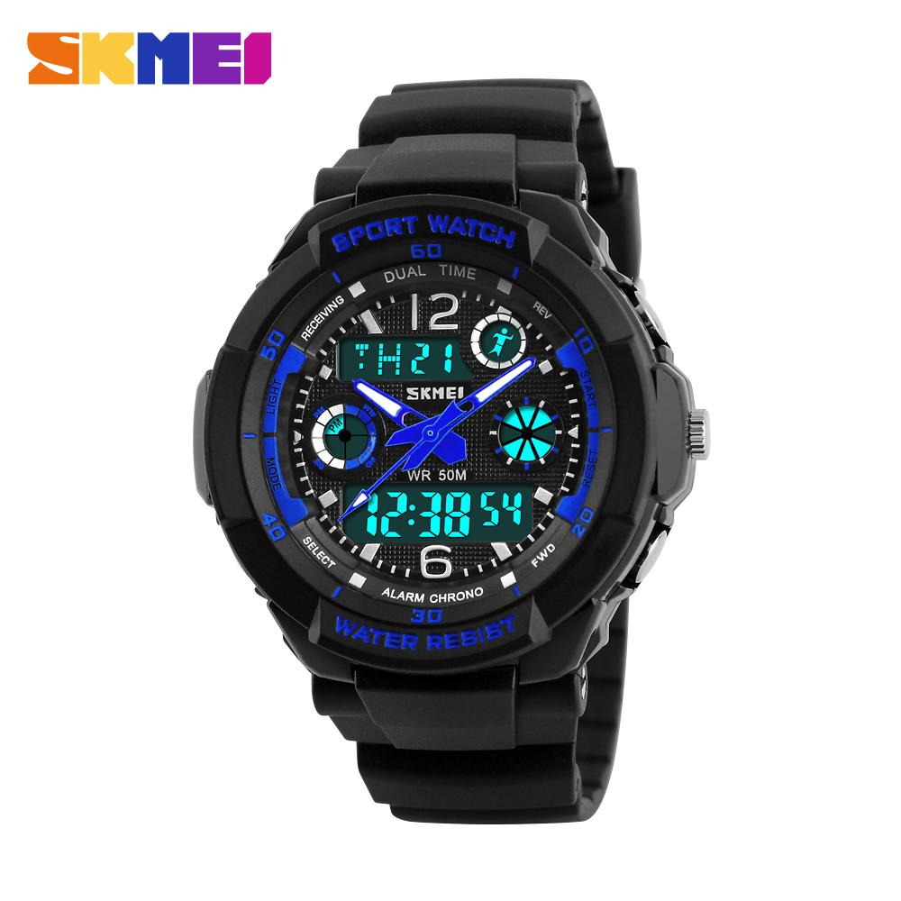 rubber sports green boamigo swim display dig military band dual waterproof watch outdoor army products digital quartz men watches