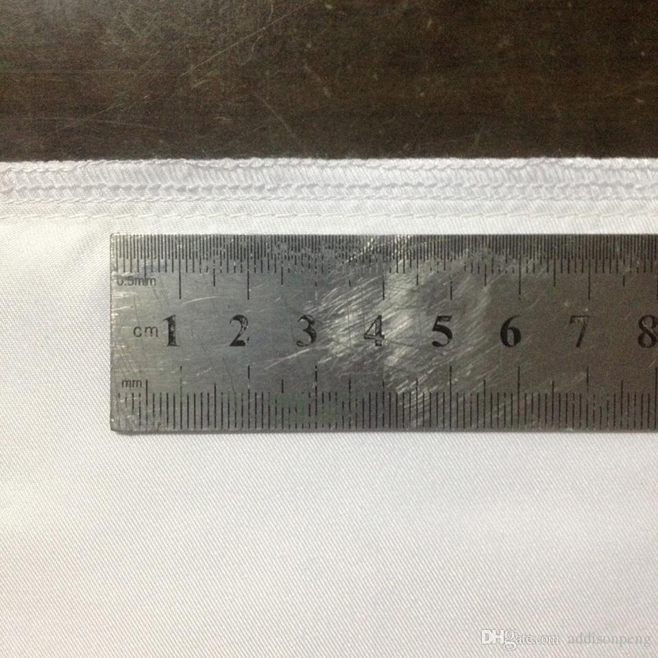 /  일반 흰색 DIY 공백 승화 베개의 경우 폴리 베개 커버 150gsm 패브릭 DIY 인쇄 / 페인트 40cm 스퀘어 화이트 베개 커버