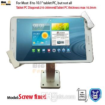 Universal Wall Mount Tablet Pc Anti Theft Holder Security