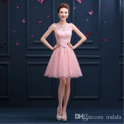 92d73fb709 Lace Up Back 15 Year Old Tulle With Lace Prom Dresses Formal Girl Party  Women Dress Girl Ball Gown Style Light Pink H3355 Prom Dresses For Petite  Girls Prom ...