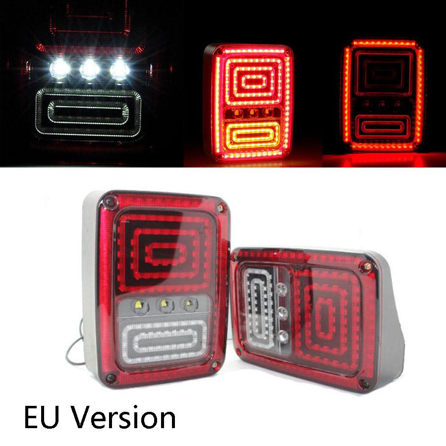 2018 New Style Plug And Play Led Taillight Assembly Reverse Brake Jeep Fog Light Tail Us Eu Version For Wrangler 07 15 From Erindolly360 13121