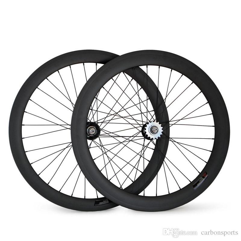 Fixed Gear Rear wheel 700C Tubular/Clincher Carbon wheel 25mm Width for track bike