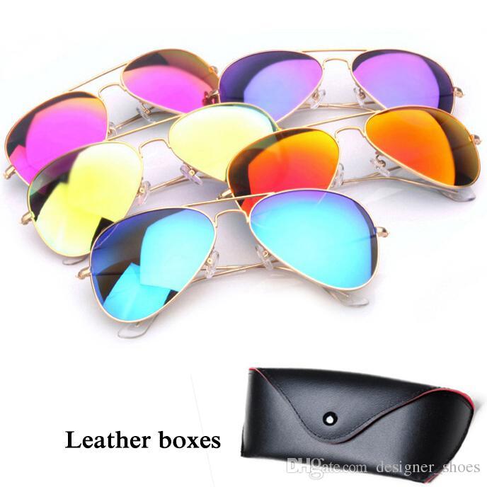 Uv400 Hombres Lente Diseñador Espejo Mujeres De Auténticas Sol Moda Colores Proteger Gafas 11 T1clFJK