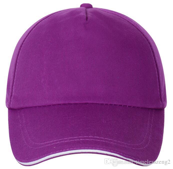 Adjustable Adult Unisex Casual Solid Baseball Caps Snapback hats for men baseball cap women men white baseball cap hat cap
