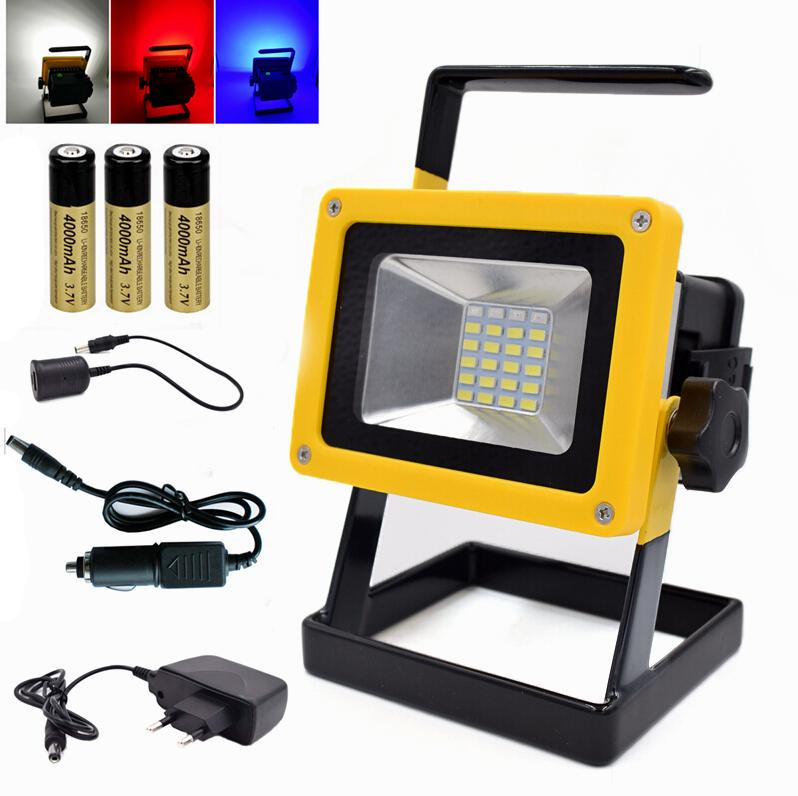 Wholesale portable 24 led floodlight 10w rechargeable work flood wholesale portable 24 led floodlight 10w rechargeable work flood light camping lamp waterproof for outdoor lighting with battery charger floodlight flood workwithnaturefo