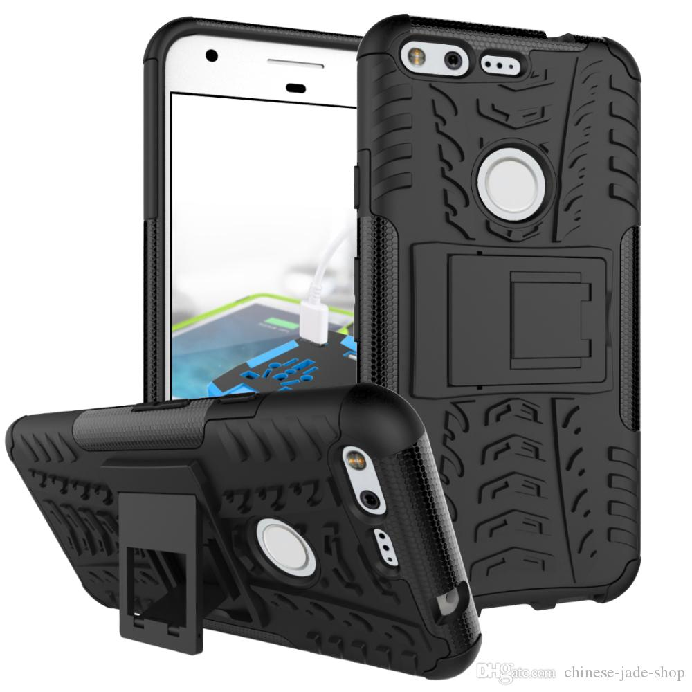 Dazzle Hybrid KickStand Impact Rugged Heavy Duty TPU+PC Shock Proof Cover Case FOR SAMSUNG GALAXY J120 J1 MINI J510 ON5 Google Pixel /