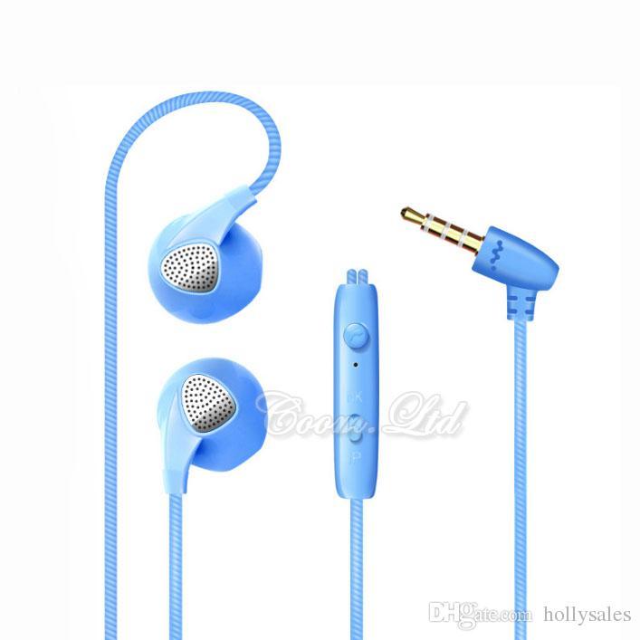 3.5mm s10 dans l'oreille 1.2m stéréo hifi sweatproof sports écouteurs intérieurs souper bass casque avec micro pour téléphone S5 S6 S8 S10