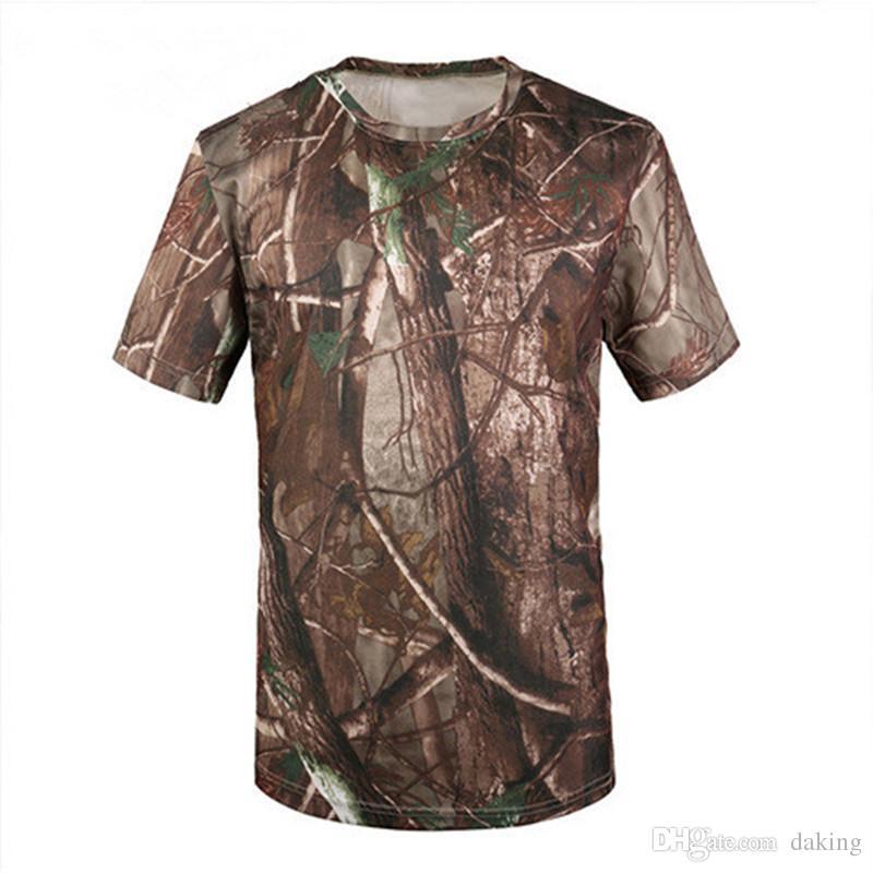 Men Summer Military Tactical Tshirt EMERSON Skin Tight Base Layer Camo Running Shirts Quick Dry Polyester ShortSleeve Mandrake Kryptek