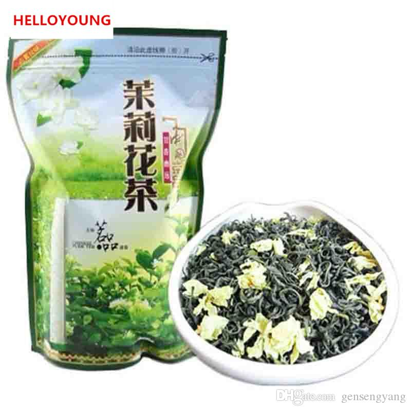 Hot sales C-LC023 Hot sale ! new Organic Jasmine Flower Tea jasmine scented Green tea 250g the tea Freeshipping mo li hua cha