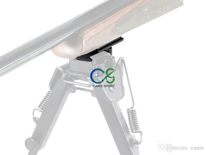 Paintball Rifle Caccia Caccia Shooting Bipod Weaver Rail Toro Stud Stud Picatinny Slot Adattatore 21.2mm Adattatore bipod Mount CL33-0209
