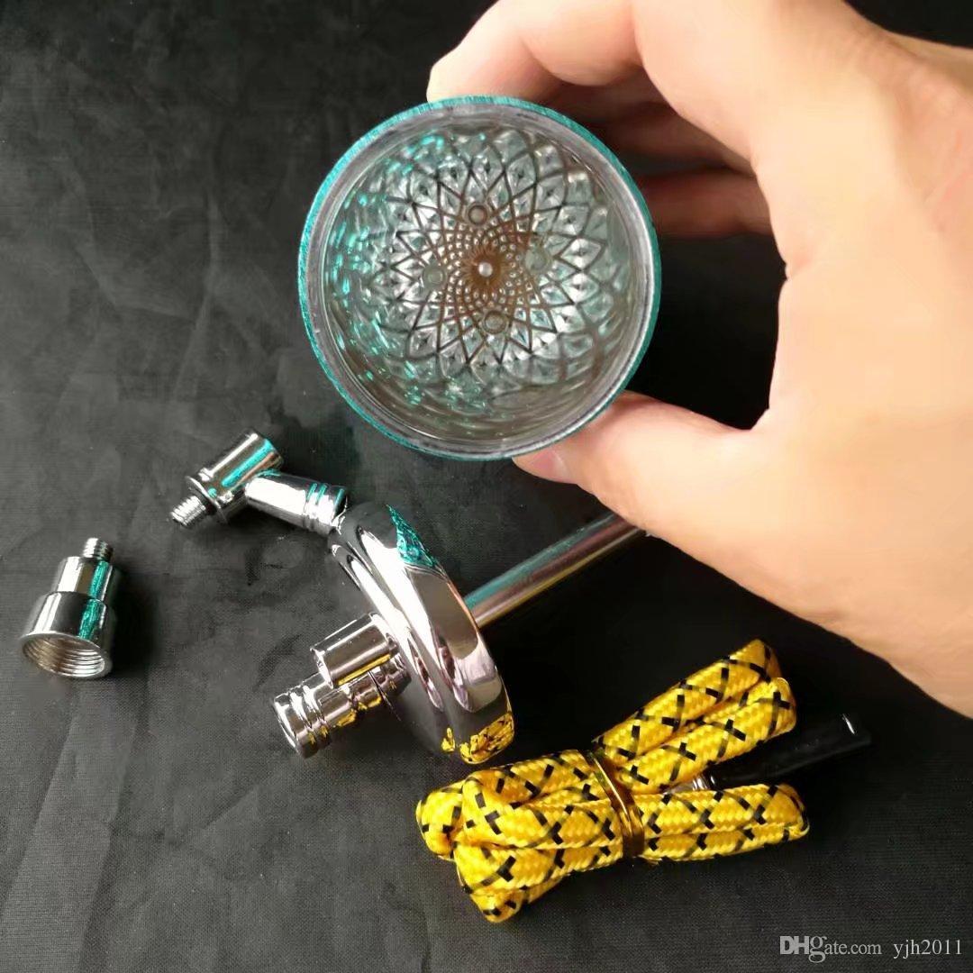 Миллион цветов шланги из нержавеющей стали аксессуары для стеклянных бонгов, стеклянные курительные трубки красочные мини-разноцветные ручные трубки Best Spoon glass P