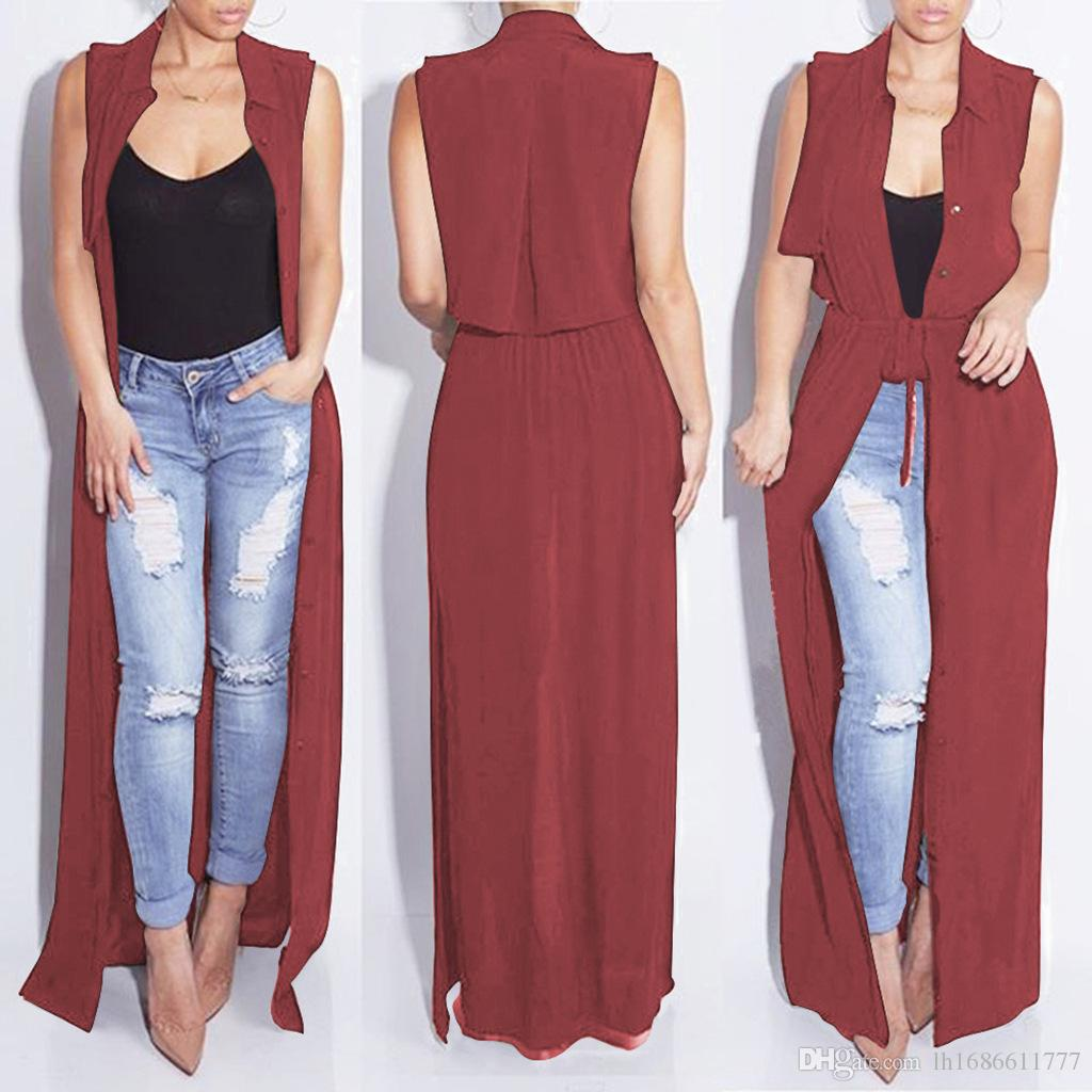 Summer fashion women chiffon tops long cardigan lady shirt sexy beach clothes dresses Women's Blouses coat Maxi Dresses