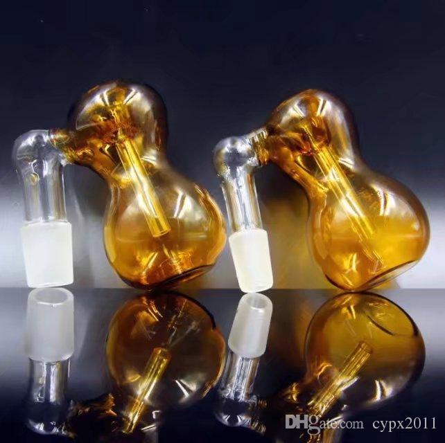 Adattatore paranco --- bruciatore a olio tubo di vetro spesso vetro pyrex bruciatore a gas fumatori tabacco tubo di vetro trasparente tubi d'acqua tubo mano narghilè
