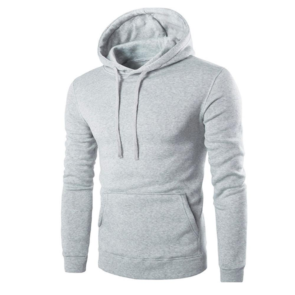 Wholesale Casual Men Long Sleeve Fleece Hoodie Solid Exercise Slim Male Hooded  Sweatshirt Boys Hip Hop Hoodies Tops Outwear Plus Size Nov9 UK 2019 From ... 9e219199cfcb