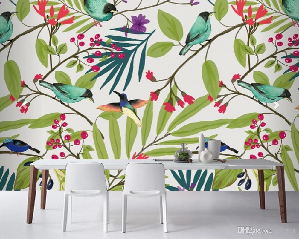 Custom Modern 3d Mural Living Room Sofa Bedroom Tv Background  # Table Pour Tele Murale