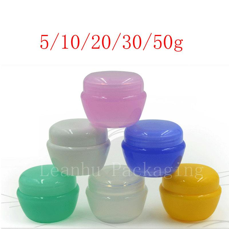 28604c6740ee Mushroom Cream Jar,Empty Plastic Cosmetics Packaging Container, Sample Sack  Packing,Refillable Cosmetic Skin Products Container