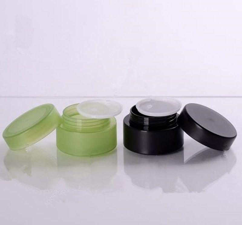 50g En Plastique Cosmétique Voyage Vide Pots Pot Maquillage Crème Baume À Lèvres Conteneur Rechargeable Bouteilles Accessoires F3203