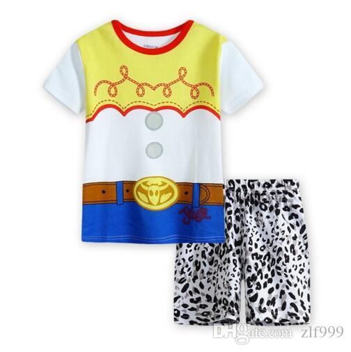 f497e0aadf 2-7 Year Wear Summer Style Baby Girl Boy Home Clothing Set ...