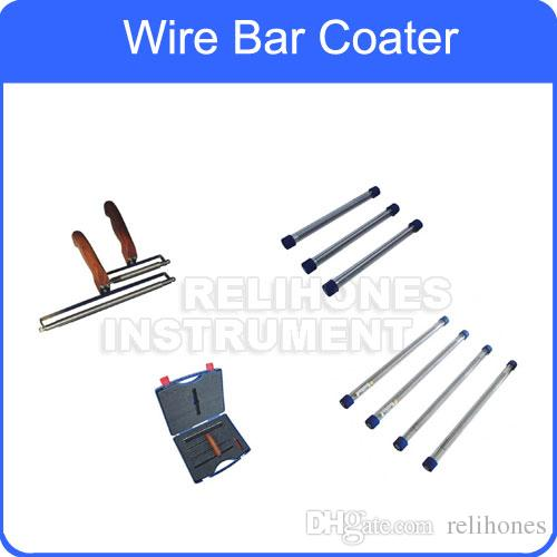 2019 Wire Bar Coater Film Applicator High Quality Stainless Steel