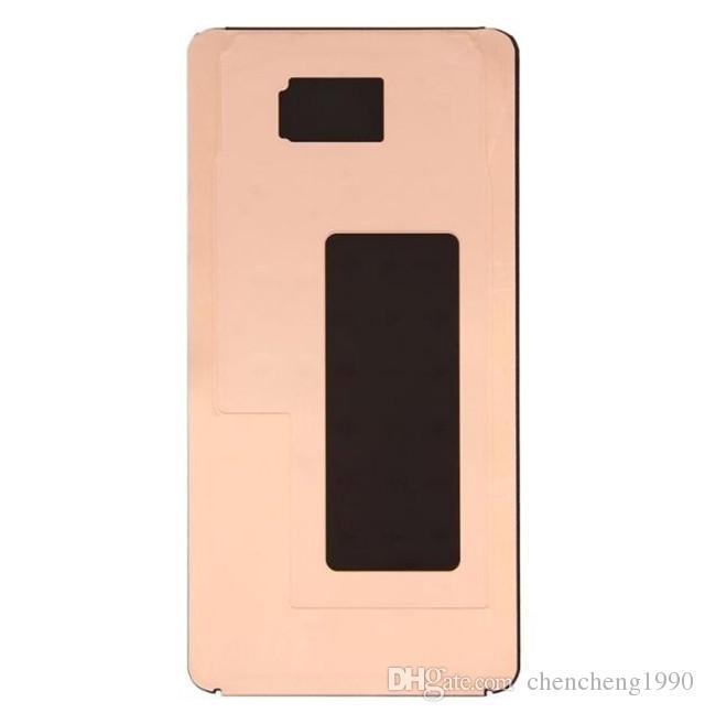 Para samsung galaxy s8 g950 s8 + s8 além de g955 lcd digitador adesivo de volta adesivo original peças de reposição
