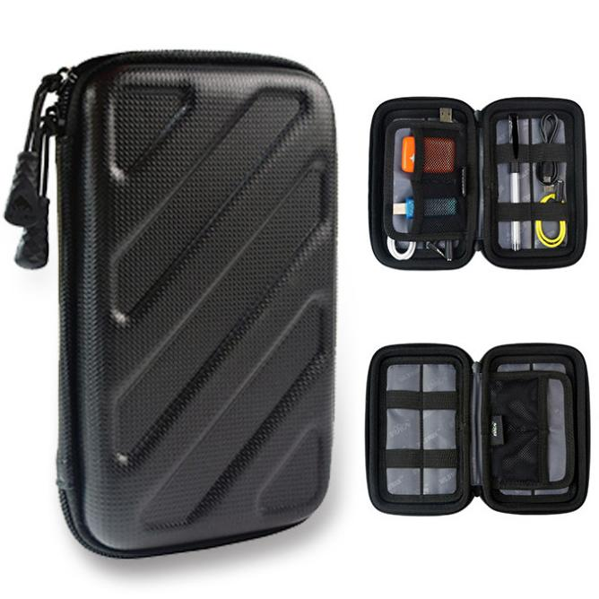 Strong EVA Storage Bag Box Organizer Portable Travel Carrying Package Kits Case For Digital Items Cable Electronic Accessories Gadgets