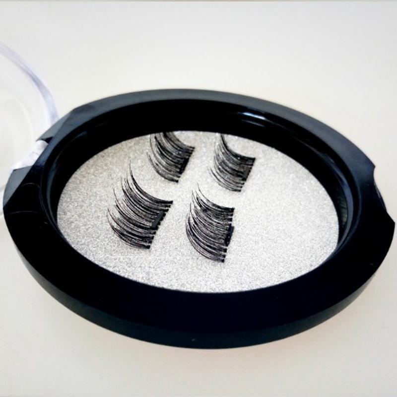 MOQ 10boxes Lashes3D Magnetic Eyelashes Extension Handmade False Eyelashes Fake Eye Lashes Beauty Makeup Tools with Box