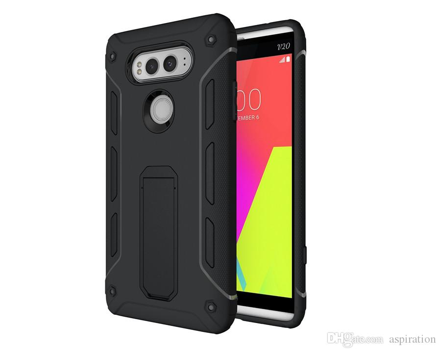 Armor Case Cover for Moto G4 Plus / LG V20 G6 / Huawei Mate 9 for OnePlus 3 Hybrid Dual Layer Tough Shockproof Shell with Kickstand