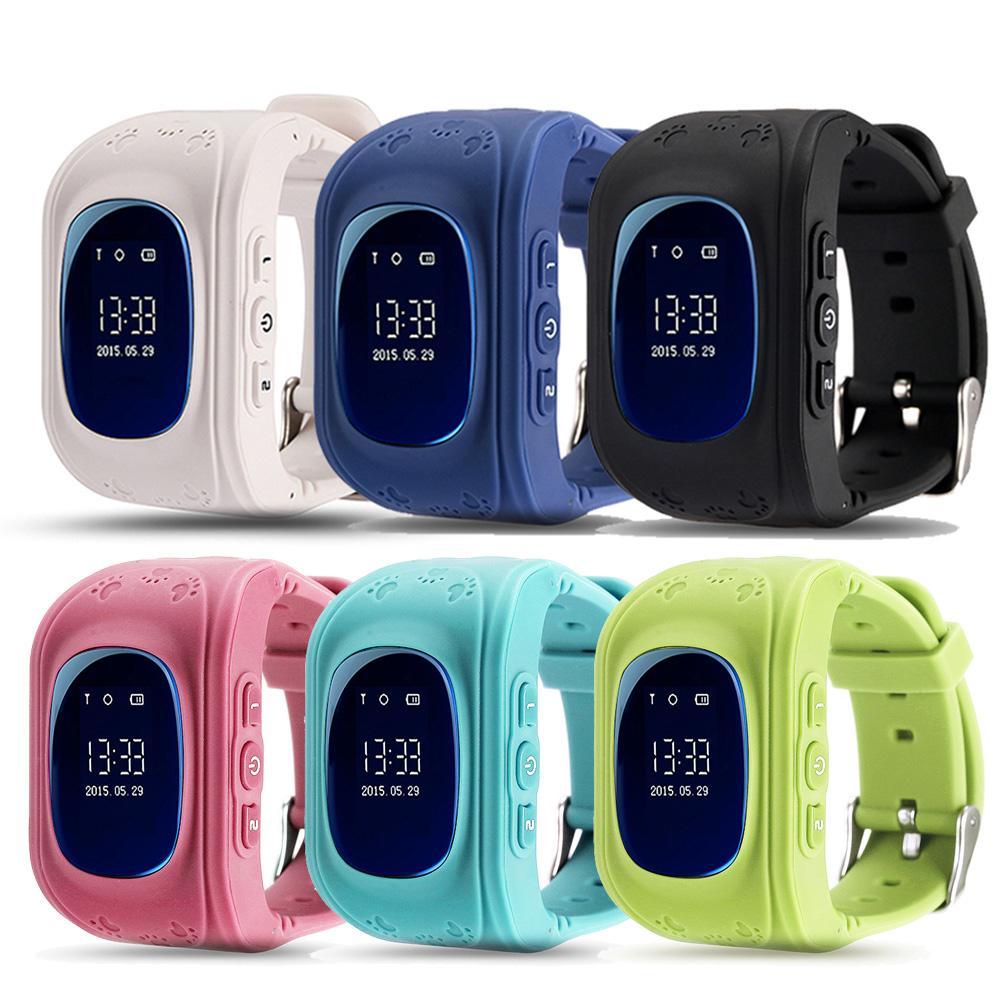9123c0edfb7 Compre Atacado Q50 GPS Smart Kid Safe Relógio Inteligente SOS Call  Localizador Localizador Tracker Para Criança Anti Lost Monitor Baby Son  Girl Relógio De ...
