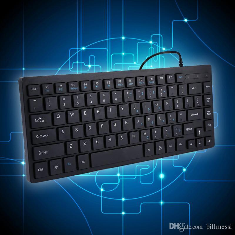 K3m 84 Keys Water Leakage Usb Wired Keyboard With 1.4m Cable Slim ...