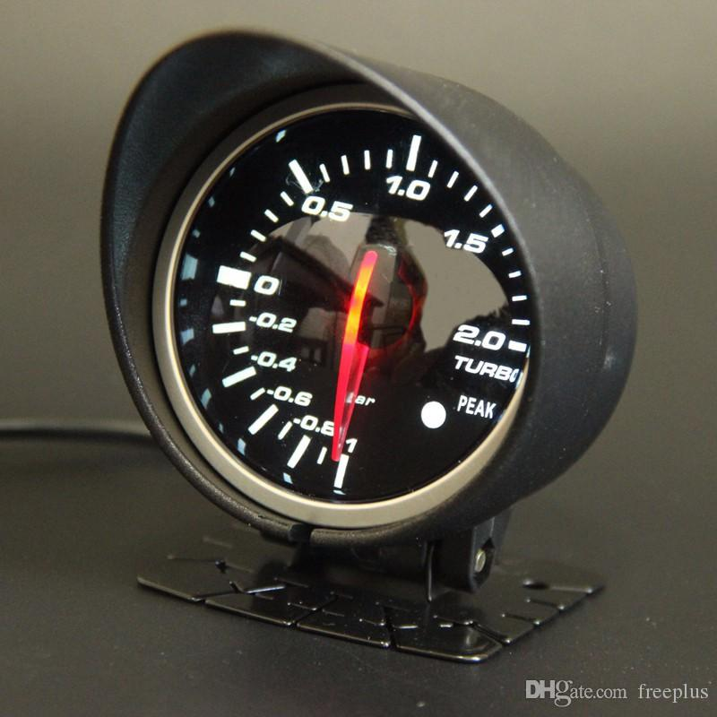60mm 2 5 inch defi bf style racing gauge car turbo boost gauge with red white light sensor. Black Bedroom Furniture Sets. Home Design Ideas