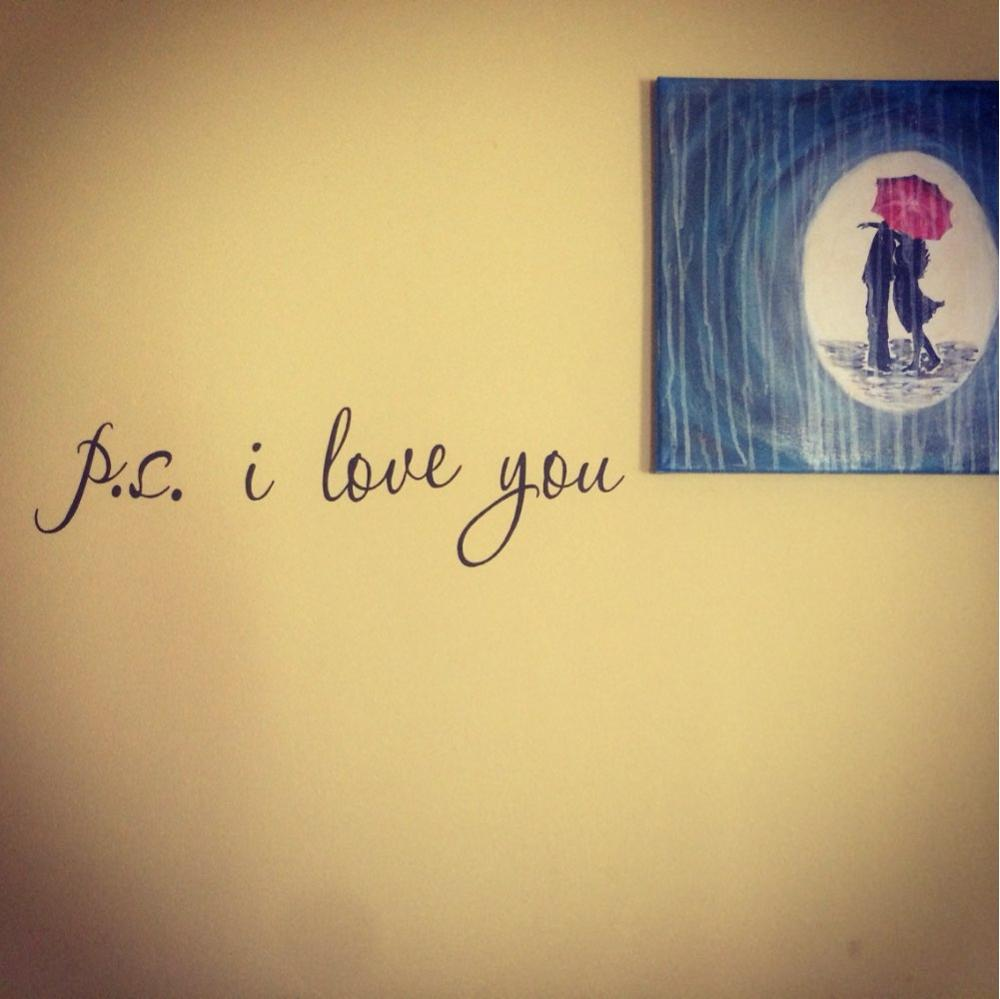 & P.S. I Love You Loving Quote Wall Decals Decorative Adesivo De ...