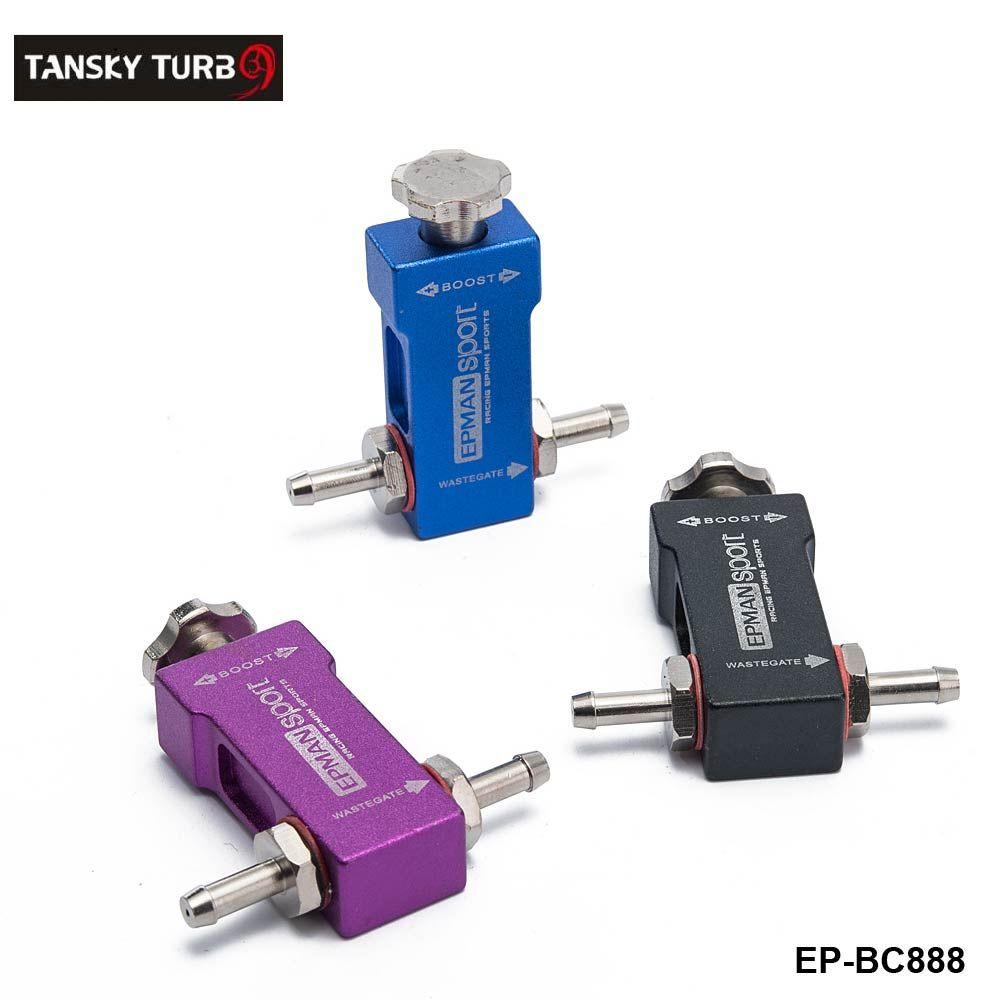 Tansky - Controlador universal ajustable de Turbo Racing Boost manual 1-30 PSI Color: Negro, Azul, Púrpura Tipo de camiseta de refuerzo EP-BC888