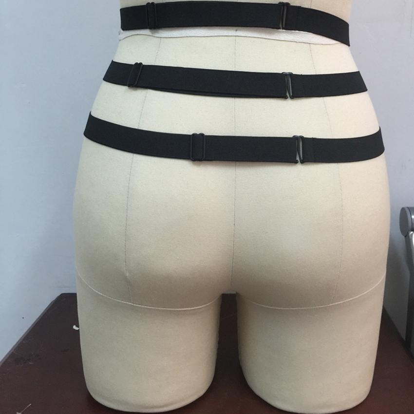Новые подвязки готический Harajuku подвязки пояса тела жгут косплей пром платья связывание жгут ноги подвязки