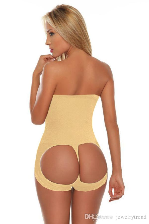 Nahtlose Hot Butt Lift Booster Beute Lifter Panty Hohe Taille Bauch Control Shaper Enhancer Body Shaperwear Shaper Taille Trainer 2 Farben