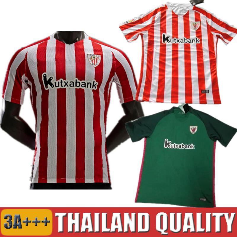Acquista 2016 2017 T Shirt Athletic Bilbao Maglia Da Calcio Athletic Club  De Bilbao Camisetas Futbol De Marcos Rosso Nero Football Shirt Laporte  Iturraspe A ... a0a1dc1d7f26d