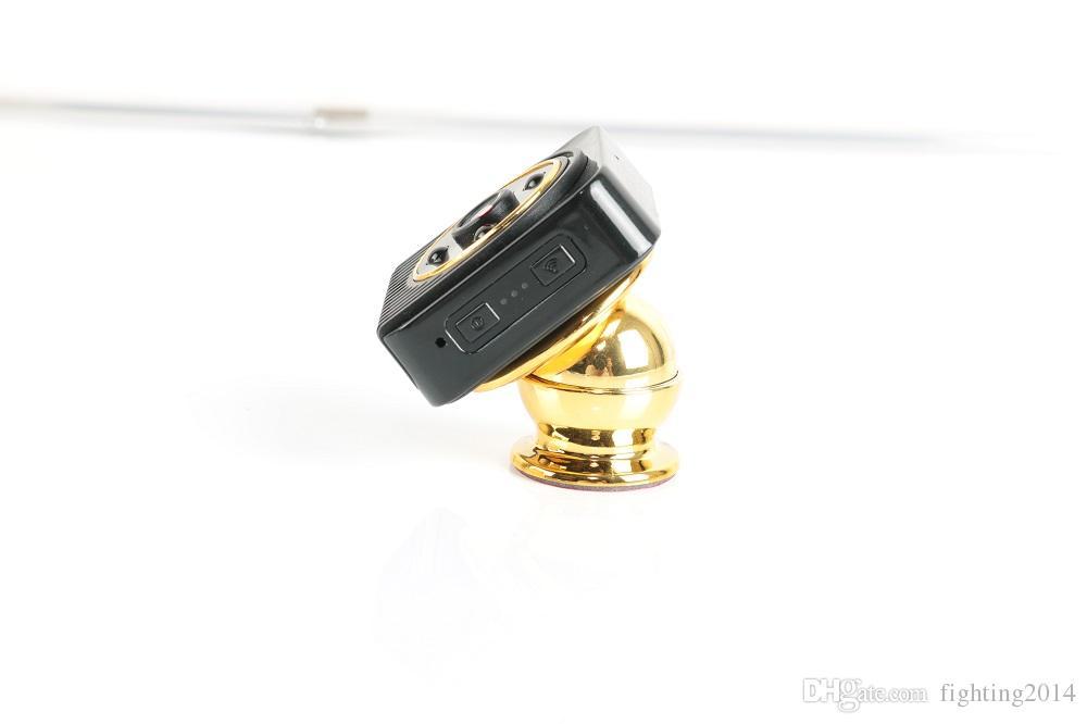 WiFi P2P mini telecamera IP Visione notturna grandangolare HD 720P Mini DV Rilevamento del movimento allarme Sorveglianza wireless Sorveglianza Videocamera del corpo wireless magnetico